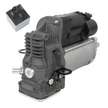 Ap02 para mercedes-benz m gl classe w164 x164 bomba de compressor de suspensão a ar nova a1643201204