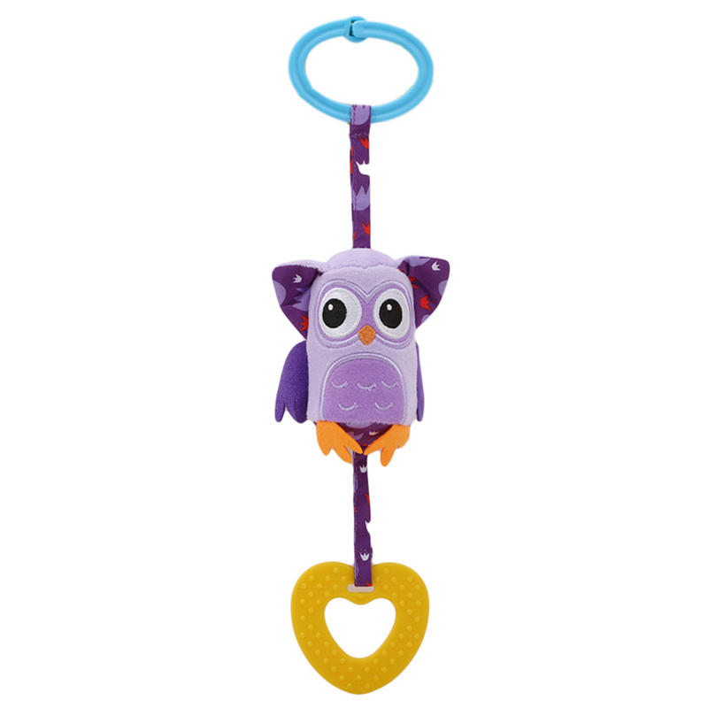 Wind Chimes Rattles Toy Stroller For Newborn Kids Toy Baby Early Educational ToysNew Infant Mobile Baby Plush Toy Bed