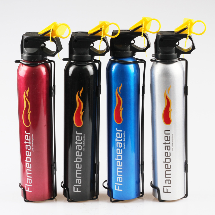 Car Dry Powder Extinguisher Mini Portable Extinguisher Genuine Product Home Car Annual Examination Only Extinguisher
