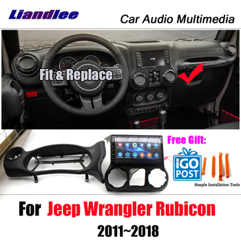 Liandlee Car Android System For Jeep Wrangler Rubicon 2011~2018 Radio Video Mirror link GPS Navi Navigation HD Stereo Multimedia