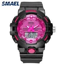 スポーツウォッチ女性リロイmujer防水 30 メートルストップウォッチクロックアラームを実行する 8025 黒腕時計instagramレディース腕時計新
