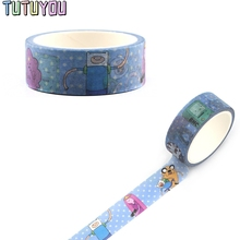 PC336 Adventure Time Decorative Paper Washi Tape DIY Scrapbooking Masking Tapes School Office Supply
