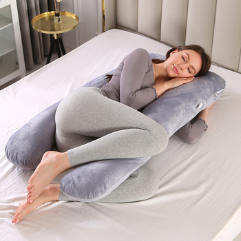 Women's U-Shaped Pregnancy Pillow 1