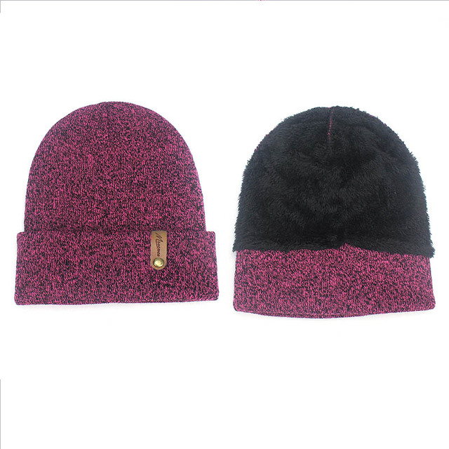 Winter Beanie Hat Scarf Set For Women Men Knitted Outdoor Warm Scarf Hat Touch Screen Gloves Sets Skullies Beanies Hat Scarf Set