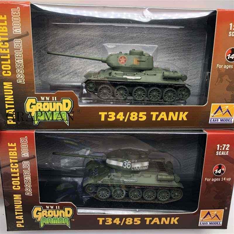 Clever 14199 Kit MAQUETA CART/ÓN Tanque Ruso T-34 DE LA II Guerra Mundial