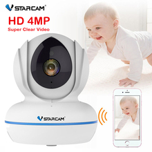 Vstarcam Cámara de Monitor para bebé, 4MP, Full HD, WiFi, BeBe, Baba, electrónica, visión nocturna, inalámbrica, vídeo, niñera
