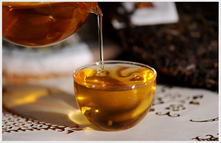 357g China Yunnan Raw Tea Old Tree Tea 357g Traditional Manual Pu'er Pure Material Green Food for Health Care 5