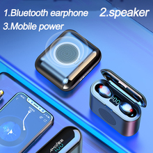 Portable Wireless 5.0 Bluetooth Speaker Stereo Outdoor Speakers Support With Bluetooth headset Support mobile phone charging