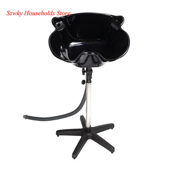PP & Stainless Steel Support Bar YC-210 Salon Removable Adjustable Shampoo Basin for Black - discount item  1% OFF Commercial Furniture