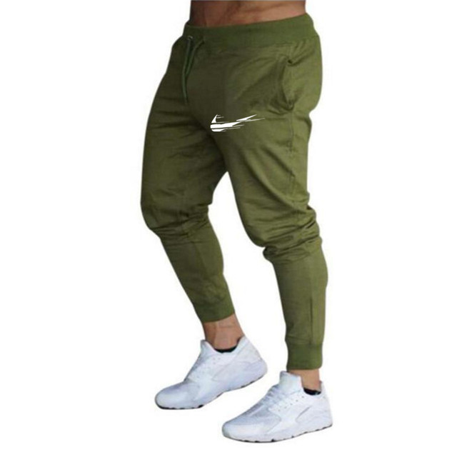 Brand 2021 Summer Men's Jogging Pants Fashion Training Casual Sports Pants Men's Running Pants Gym Muscle Fitness Stretch Pants 3
