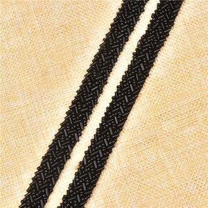 Image 5 - 5 หลา/lot Rhinestones ลูกไม้ผ้าริบบิ้นตัด 1.5 ซม.ถัก Applique Scrapbooking Craft อุปกรณ์เย็บผ้าสำหรับงานแต่งงานชุด