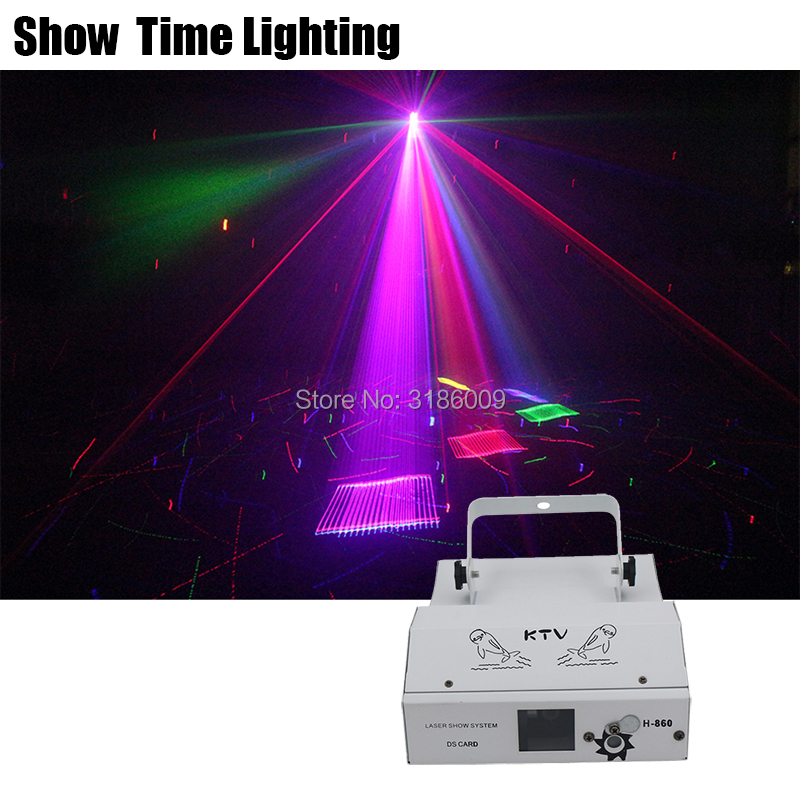 Full Stars 3D Cartoon RGB Dj Laser Image Lines Beam DJ Dance Bar Coffee Xmas Home Party Disco Effect Lighting Light System Show