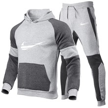 2021 New Men's Hoodie Fall Sportsuit Hoodie + Pants Features Hot Hip Hop AMG Moletom Men's Fashion Shirt with Pants