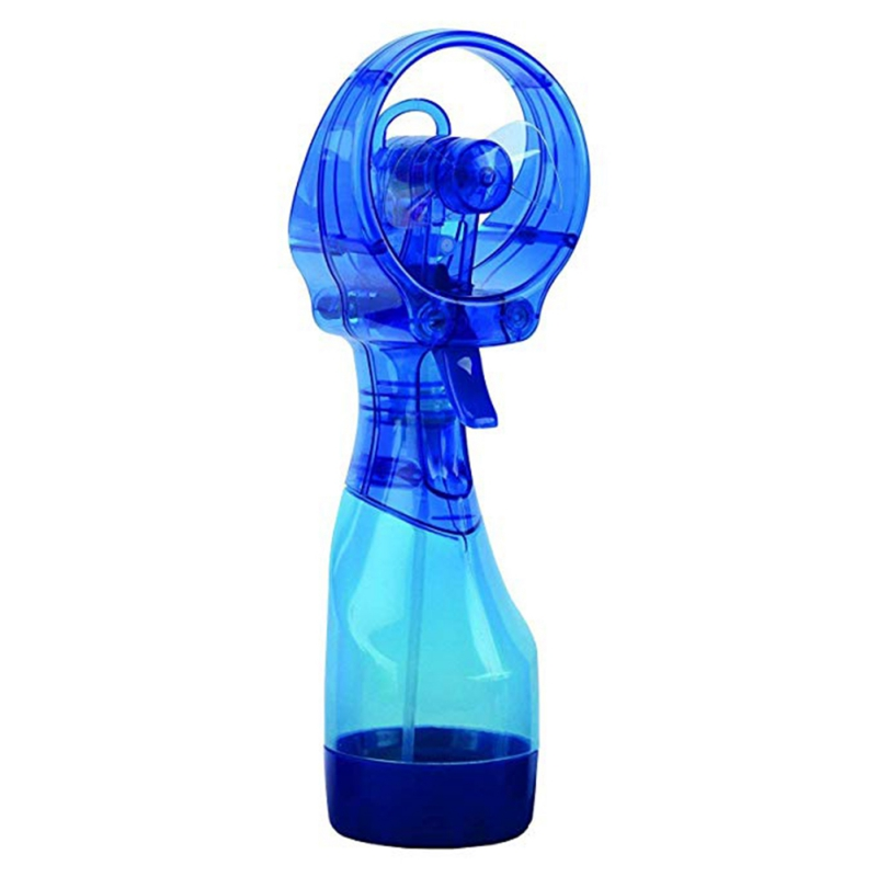 7 Color Mini Portable Water Spray Cooler Handheld Outdoor Bottle Travel Battery Misting Cooling Fans Drop Shipping