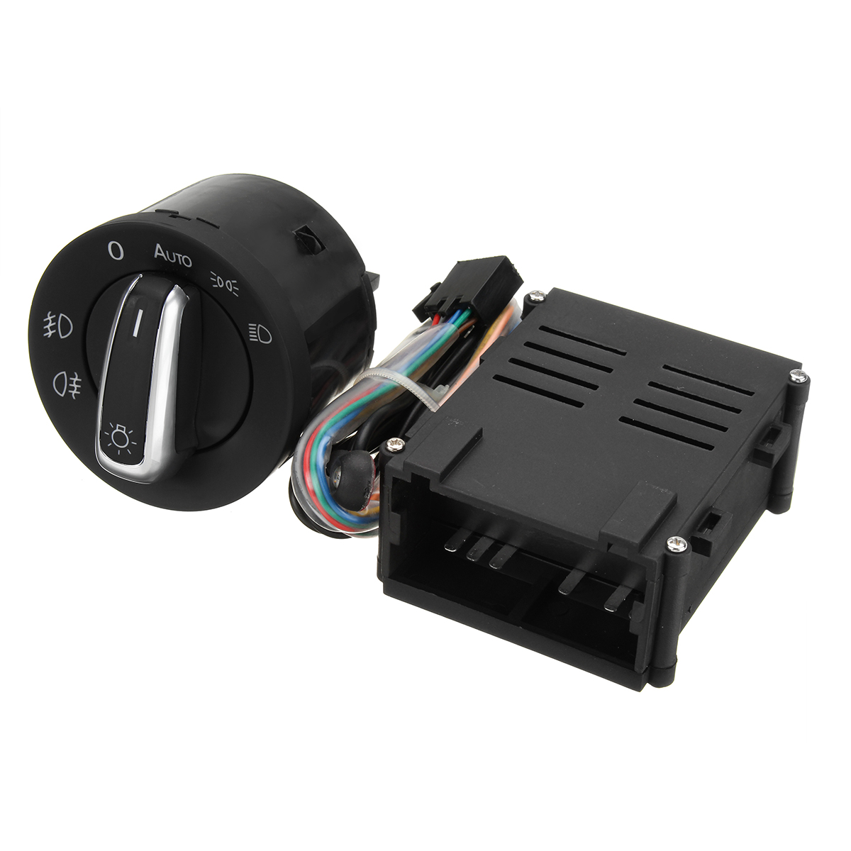 Image 2 - Car Auto Headlight Sensor HeadLamp Knob Switch Control Module for VW T5 T5.1 Transporter 2003 2015-in Car Switches & Relays from Automobiles & Motorcycles