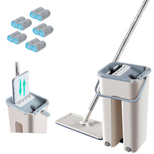 Automatic Spinning Mop Spray Magic Hand Free Washing Ultrafine Fiber Cleaning Cloth Home Kitchen Wooden Floor