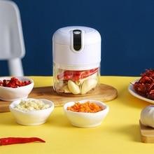 Wireless Electric Meat Grinder Mini Garlic Crusher Chili Chopper USB Charging Garlic Ginger Masher Fresh Kitchen Meat Shredder