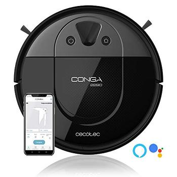 цена на Cecotec Conga 2090 -2290- 2690. Robot vacuum cleaner technology iTech Camara 360, scrub, suck and Barre both, robot vacuum cleaner