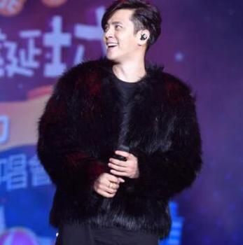 Autumn short faux mink leather jacket mens winter thicken warm fur leather coat men slim jackets jaqueta de couro fashion B62