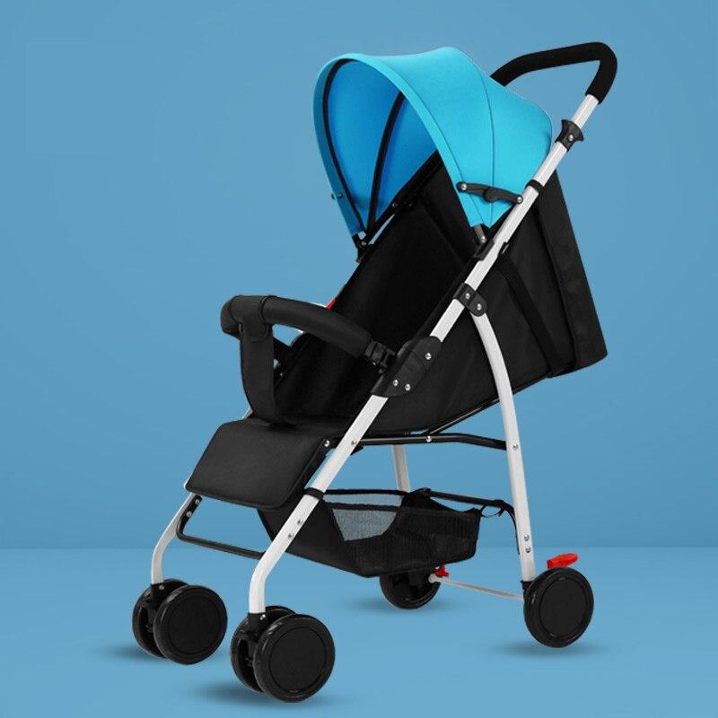 Léger bébé poussette Portable parapluie poussettes landaus pour enfants pliant voyage Europe chariot voiture léger nouveau poussette pas cher