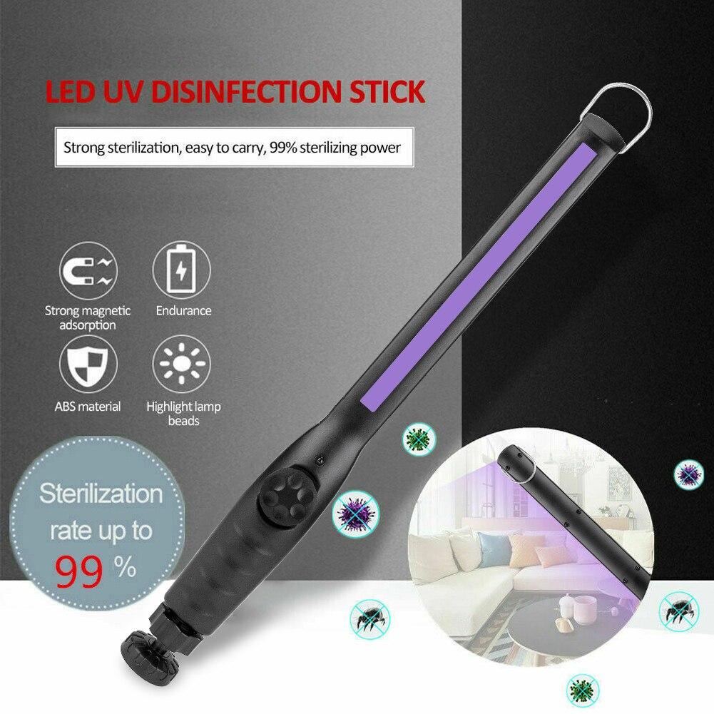 UV C светильник бактерицидная ультрафиолетовая дезинфекция Встроенный перезаряжаемый аккумулятор 30 светодиодный ручной портативный стерилизатор|Ультрафиолетовые лампы|   | АлиЭкспресс
