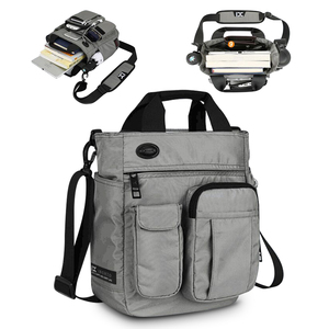 Image 1 - Heren Schoudertas, Multi Functionele Crossbody Messenger Bag Business Satchel Sling Reizen Ipad Documenten Aktetas