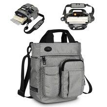メンズショルダーバッグ、多機能クロスボディメッセンジャーバッグビジネスサッチェルスリングバッグ旅行ipad文書ブリーフケース