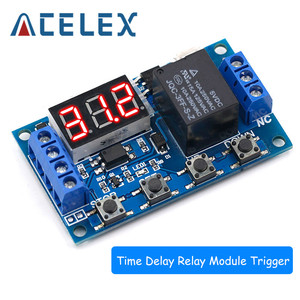 6-30V Relay Module Switch Trigger Time Delay Circuit Timer Cycle Adjustable 828 Promotion(China)