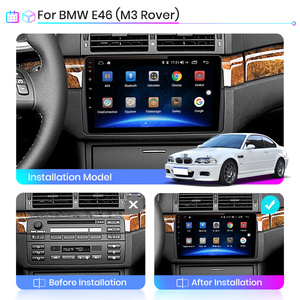 Image 2 - Junsun V1 pro 2G+128G Android 10 For BMW E46 M3 Rover 75 MG ZT Car Radio Multimedia Video Player Navigation GPS 2 din dvd