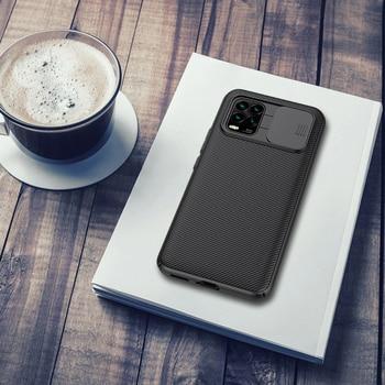 For Xiaomi Mi 10 Youth 5G case Nillkin CamShield Case Slide Camera Protection Cover For Xiaomi Mi 10 Lite 5G Case