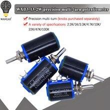 WXD3-13 2W WXD3-12 100 220 470 K 2K2 1 3K3 4K7 47 33 22 10K K K K Ohm 100R 220 WXD3-12-1W 470R 2.2K 3.3K 4.7K Potenciômetro com porca