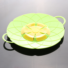 Silicone lid Spill Stopper Cover For Pot Pan Kitchen Accessories Cooking Tools Flower Cookware Gadgets
