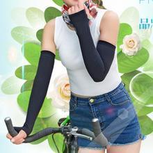 Arm-Sleeves Cycling Driving Running Women Summer Fishing 1-Pair Sun-Uv-Protection Clambing