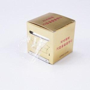 Image 2 - 1 롤 40MM * 200M 문신 플라스틱 랩 커버 방부제 필름 세미 영구 메이크업 문신 눈썹 라이너 문신 보호 액세서리