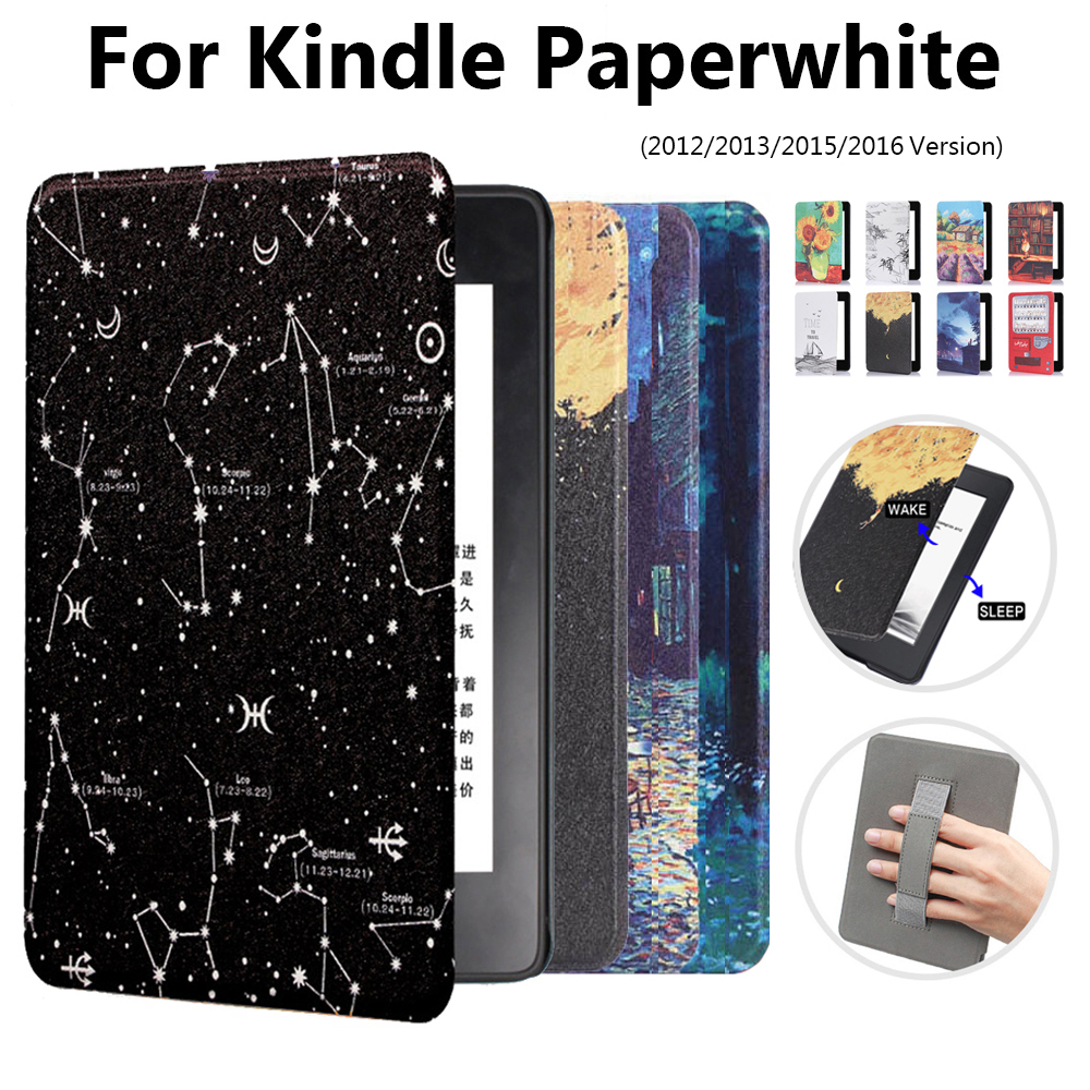 1 PC Ultra Slim Leather Smart Case Magnetic 6