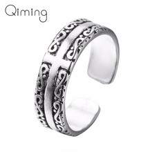 Vintage Punk Ring Infinity Cross Infinite Knuckle Rings Birthday Gift Simple Geometric Rings for Women Men Friendship Gift(China)