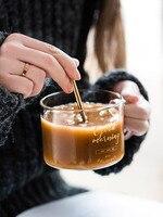 2 шт., стеклянные чашки и кружки, прозрачная кофейная кружка, креативные чайные чашки, пивные стеклянные ручки, термостойкие, взрывозащищенн...