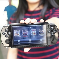 X9 5.1 Inch Handheld Game Console 8GB Video Game Player Built In 300 Games Handheld Retro Console for Kids Adults