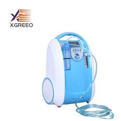 XGREEO 1-5L مكثف الأوكسجين المحمول/بنك الأكسجين/آلة الأكسجين للمنزل