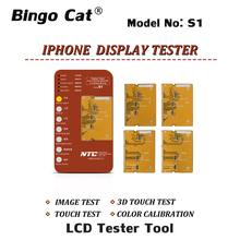 S1 Display Digitizer LCD Tester Tool Box + PCB Board Für iPhone 6s zu 8p X XR XS MAX 11 pro Motherboard Touchscreen 3D Touch-Test