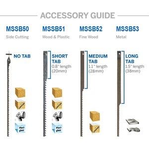 """Image 5 - TASP cuchillas de Sierra de calar de 4 """"y 105mm, cuchillas de corte de madera para motosierra Dremel, 48 Uds."""