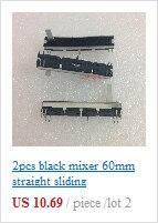 b500k comprimento 15mm do punho eixo serrilhado