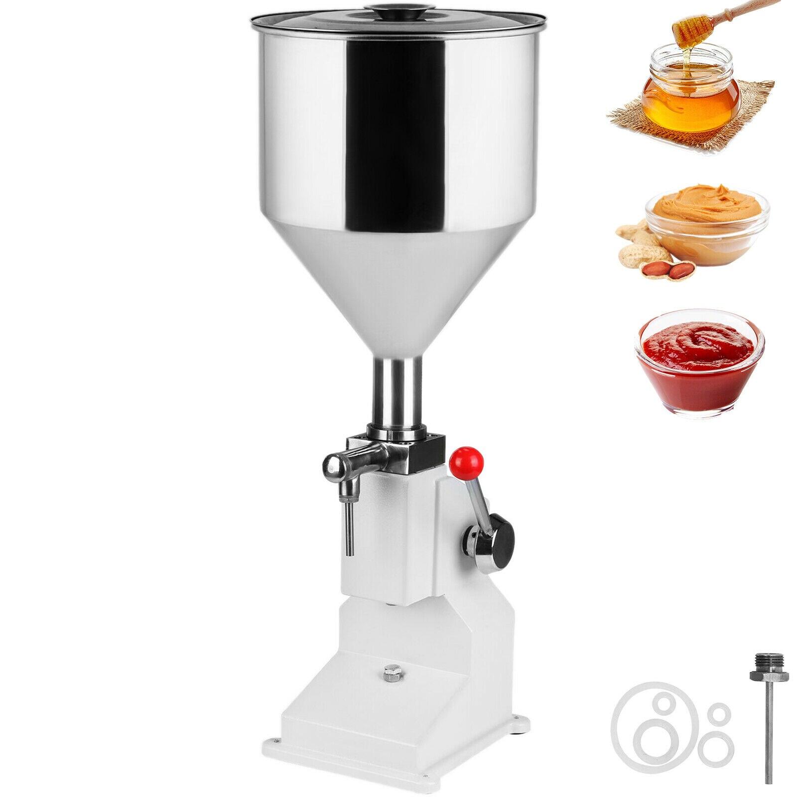 VEVOR 5-50ML Manual Liquid Filling ...