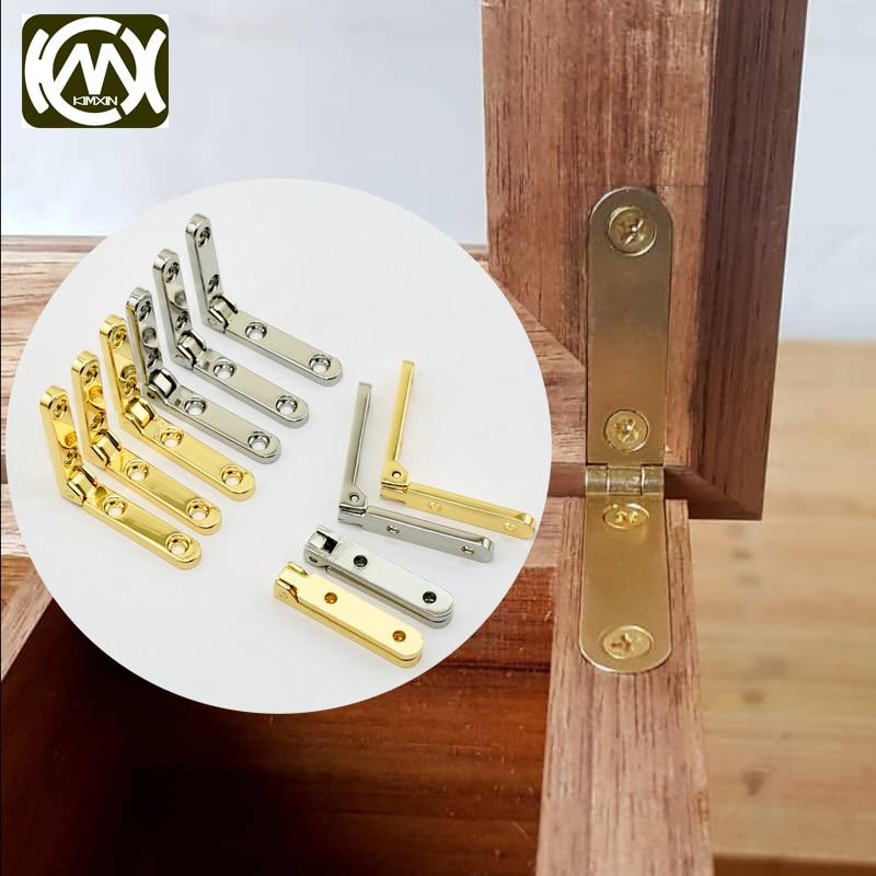 KIMXIN 2 шт. 30*30 мм * 95 градусов высококлассные петли из цинкового сплава с 4 отверстиями, деревянный ящик, коллекционный ящик, ювелирный ящик, про...