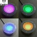 2 шт. светодиодный Подводные лампы RGB PAR56 AC12V 36 Вт диаметр 30 см высота 15 см большой плавательный бассейн свет с дистанционным управлением