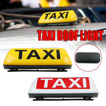 Sign Lamp Dome Led Universal Illuminated Taxi Top Light Waterproof Vehicle Cab Roof Replacement Super Bright Topper Magnetic