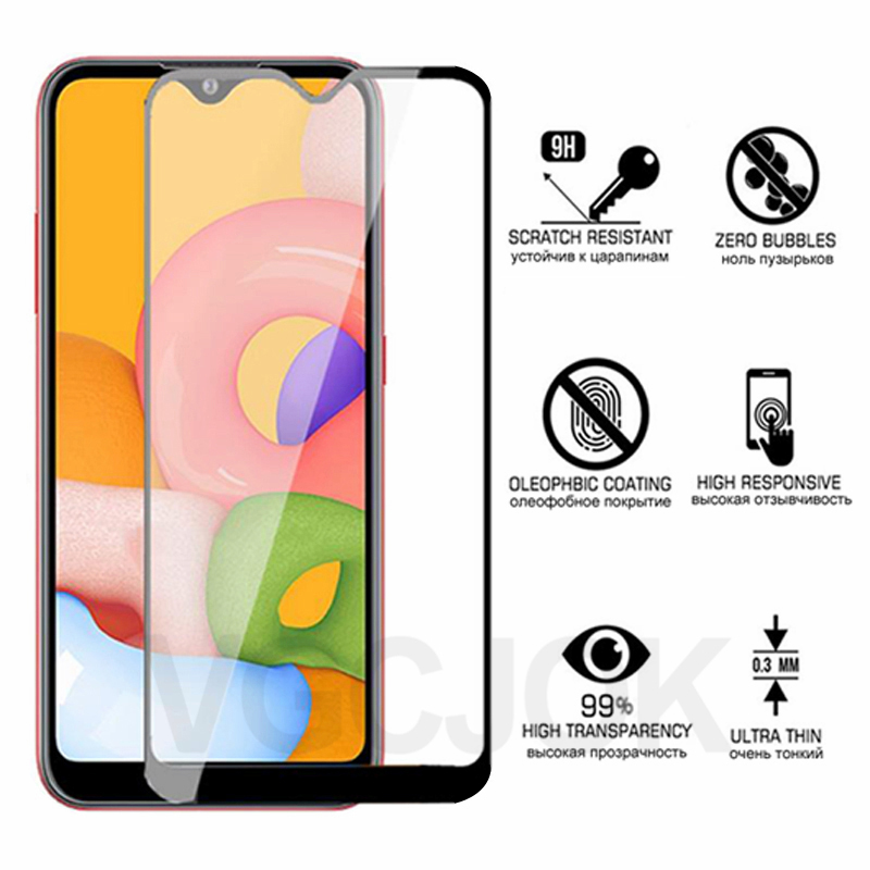 Tempered Glass For Samsung Galaxy A01 A51 A71 Screen Protector A10 A20 A30 A40 A50 Protective Glass For A10S A20S A30S A40S A50S