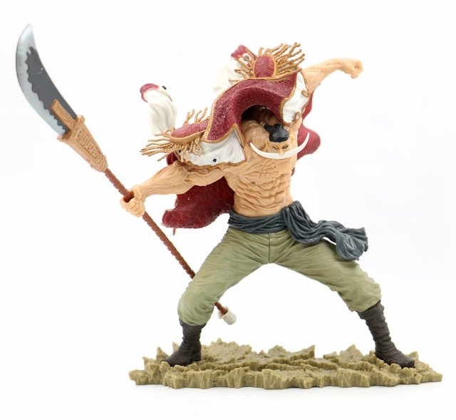 Anime One Piece SCultures the TAG Team Edward Newgate 20th Figure Statue One Piece White Beard Figure Collectible Model Toy 2
