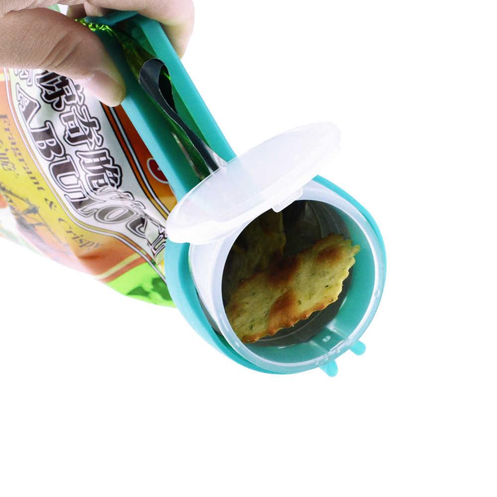 3 Tama/ños sylbx 24 pcs Clips Sellado Alimentos Pinzas Cierre Clip Pinza herm/ético Bolso Pinzas Pl/ástico Seal Clamp Sellado herm/éticos Abrazadera Alimentos y Aperitivos