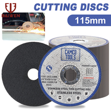 115mm Metal Cutting Disc 4.5Inch Stainless Steel Cut Off Wheels Double Mesh Flat Sanding Grinding Disc For Angle Grinder 2-50pcs